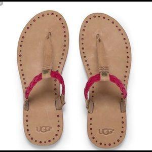 UGG braided sandals